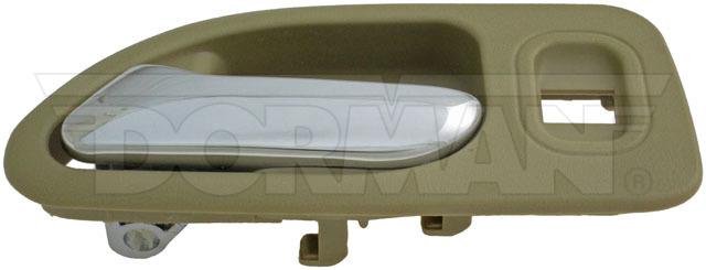 Interior Door Handle Rear Left Chrome Beige Dorman 92420