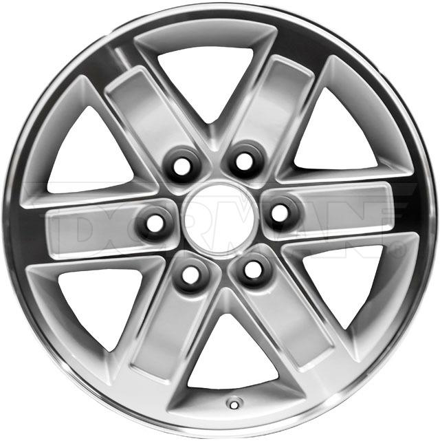 New OE Style Aluminum 17x7.5 Wheel Fits 2007-2011 GMC Sierra & Yukon