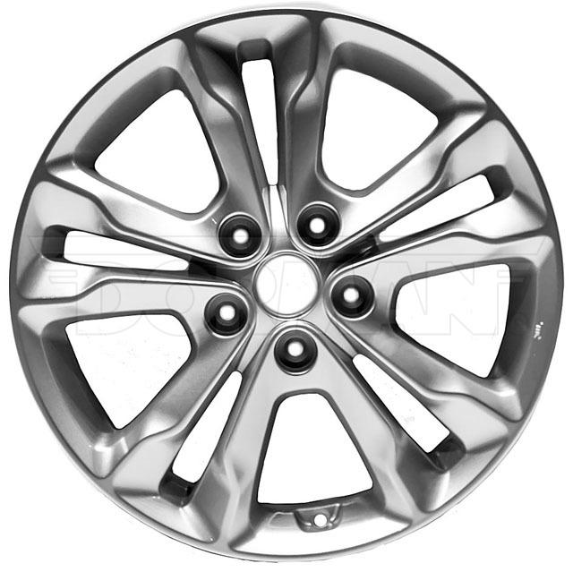 New OE Style Aluminum 17x6.5 Wheel Fits 2010-2012 Kia Optima