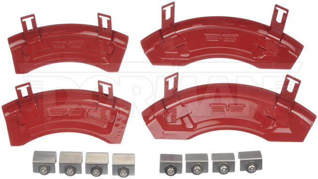 Disc-Brake-Caliper-Cover-Fits-11-16-Dodge-Charger-Challenger-11-0001F thumbnail 2
